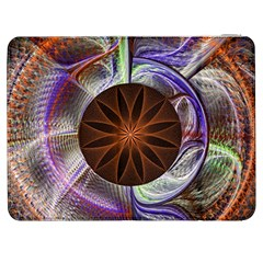 Background Image With Hidden Fractal Flower Samsung Galaxy Tab 7  P1000 Flip Case
