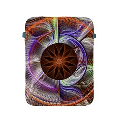 Background Image With Hidden Fractal Flower Apple iPad 2/3/4 Protective Soft Cases
