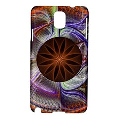 Background Image With Hidden Fractal Flower Samsung Galaxy Note 3 N9005 Hardshell Case