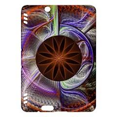 Background Image With Hidden Fractal Flower Kindle Fire HDX Hardshell Case