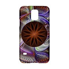 Background Image With Hidden Fractal Flower Samsung Galaxy S5 Hardshell Case