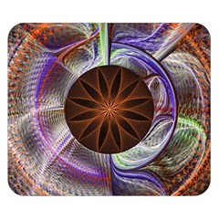 Background Image With Hidden Fractal Flower Double Sided Flano Blanket (Small)