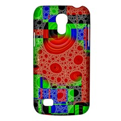 Background With Fractal Digital Cubist Drawing Galaxy S4 Mini