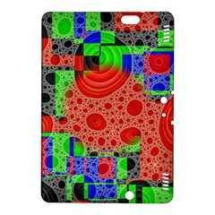 Background With Fractal Digital Cubist Drawing Kindle Fire Hdx 8 9  Hardshell Case