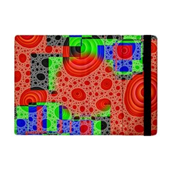 Background With Fractal Digital Cubist Drawing iPad Mini 2 Flip Cases