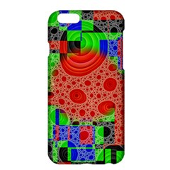Background With Fractal Digital Cubist Drawing Apple Iphone 6 Plus/6s Plus Hardshell Case