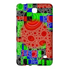 Background With Fractal Digital Cubist Drawing Samsung Galaxy Tab 4 (8 ) Hardshell Case