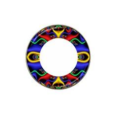 Symmetric Fractal Snake Frame Hat Clip Ball Marker (4 Pack)