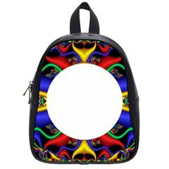 Symmetric Fractal Snake Frame School Bags (small)