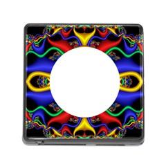 Symmetric Fractal Snake Frame Memory Card Reader (square)