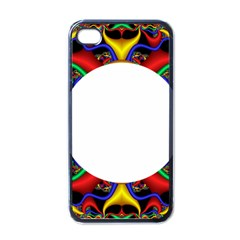 Symmetric Fractal Snake Frame Apple Iphone 4 Case (black)