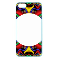 Symmetric Fractal Snake Frame Apple Seamless iPhone 5 Case (Color)