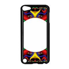 Symmetric Fractal Snake Frame Apple iPod Touch 5 Case (Black)