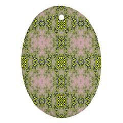 Digital Computer Graphic Seamless Wallpaper Ornament (oval)