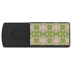 Digital Computer Graphic Seamless Wallpaper Usb Flash Drive Rectangular (4 Gb)