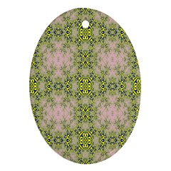 Digital Computer Graphic Seamless Wallpaper Oval Ornament (Two Sides)