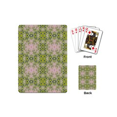 Digital Computer Graphic Seamless Wallpaper Playing Cards (mini)