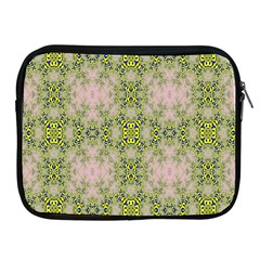 Digital Computer Graphic Seamless Wallpaper Apple iPad 2/3/4 Zipper Cases