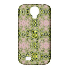Digital Computer Graphic Seamless Wallpaper Samsung Galaxy S4 Classic Hardshell Case (PC+Silicone)