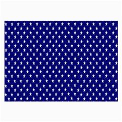 Rainbow Polka Dot Borders Colorful Resolution Wallpaper Blue Star Large Glasses Cloth (2 Side)