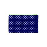 Rainbow Polka Dot Borders Colorful Resolution Wallpaper Blue Star Cosmetic Bag (XS) Back