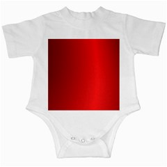 Red Gradient Fractal Backgroun Infant Creepers