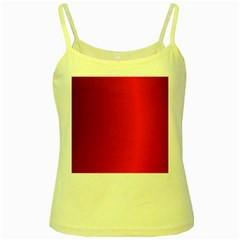 Red Gradient Fractal Backgroun Yellow Spaghetti Tank