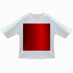 Red Gradient Fractal Backgroun Infant/toddler T Shirts