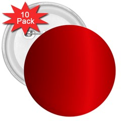 Red Gradient Fractal Backgroun 3  Buttons (10 Pack)