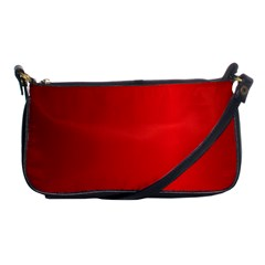 Red Gradient Fractal Backgroun Shoulder Clutch Bags