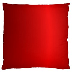 Red Gradient Fractal Backgroun Large Cushion Case (One Side)