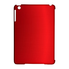 Red Gradient Fractal Backgroun Apple iPad Mini Hardshell Case (Compatible with Smart Cover)