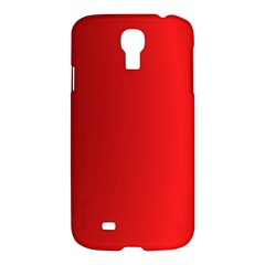 Red Gradient Fractal Backgroun Samsung Galaxy S4 I9500/i9505 Hardshell Case