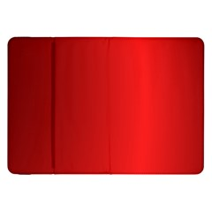 Red Gradient Fractal Backgroun Samsung Galaxy Tab 8.9  P7300 Flip Case