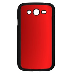 Red Gradient Fractal Backgroun Samsung Galaxy Grand DUOS I9082 Case (Black)