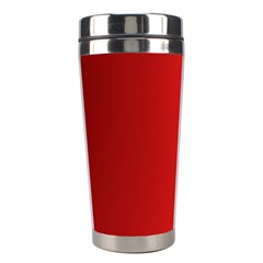 Red Gradient Fractal Backgroun Stainless Steel Travel Tumblers