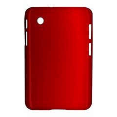 Red Gradient Fractal Backgroun Samsung Galaxy Tab 2 (7 ) P3100 Hardshell Case