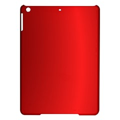 Red Gradient Fractal Backgroun iPad Air Hardshell Cases