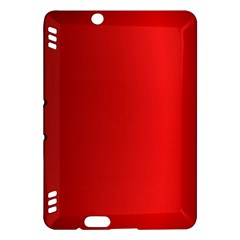 Red Gradient Fractal Backgroun Kindle Fire HDX Hardshell Case