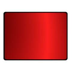 Red Gradient Fractal Backgroun Double Sided Fleece Blanket (Small)