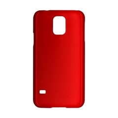 Red Gradient Fractal Backgroun Samsung Galaxy S5 Hardshell Case