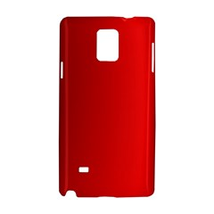 Red Gradient Fractal Backgroun Samsung Galaxy Note 4 Hardshell Case