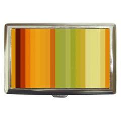 Colorful Citrus Colors Striped Background Wallpaper Cigarette Money Cases