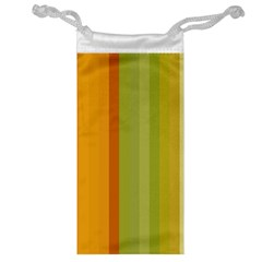 Colorful Citrus Colors Striped Background Wallpaper Jewelry Bag