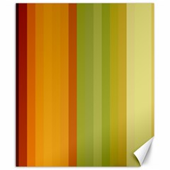 Colorful Citrus Colors Striped Background Wallpaper Canvas 20  X 24