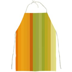 Colorful Citrus Colors Striped Background Wallpaper Full Print Aprons