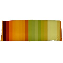 Colorful Citrus Colors Striped Background Wallpaper Body Pillow Case Dakimakura (Two Sides)