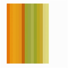 Colorful Citrus Colors Striped Background Wallpaper Large Garden Flag (two Sides)
