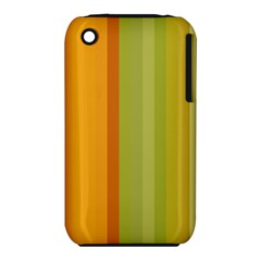 Colorful Citrus Colors Striped Background Wallpaper iPhone 3S/3GS