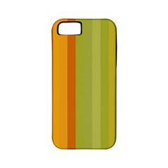 Colorful Citrus Colors Striped Background Wallpaper Apple iPhone 5 Classic Hardshell Case (PC+Silicone)